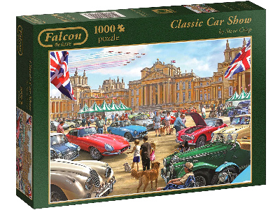 CLASSIC CAR SHOW 1000pc