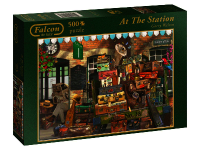 AT THE STATION 500pc