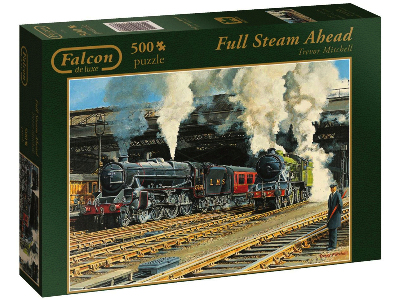 FULL STEAM AHEAD 500pc