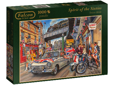 SPIRIT OF THE 60s 1000pc