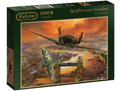 SPITFIRE OVER LONDON 1000pc
