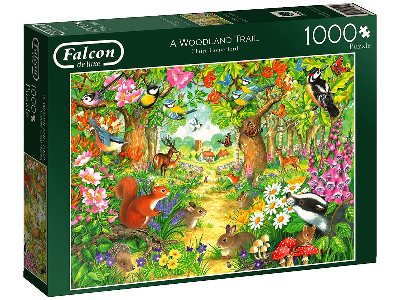 A WOODLAND TRAIL 1000pc