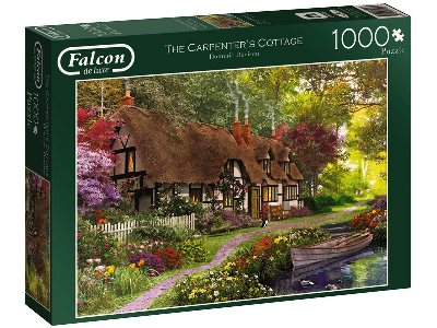 THE CARPENTER'S COTTAGE 1000pc