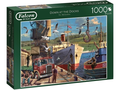 DOWN AT THE DOCKS 1000pcs