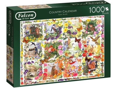 COUNTRY CALENDER 1000pcs