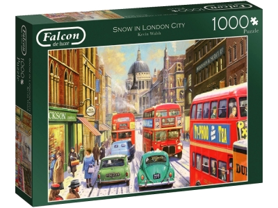 SNOW IN LONDON CITY 1000pcs