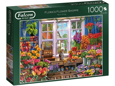 FLORA'S FLOWER SHOPPE 1000pc