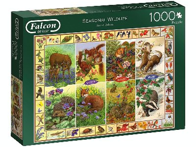 SEASONAL WILDLIFE 1000pc
