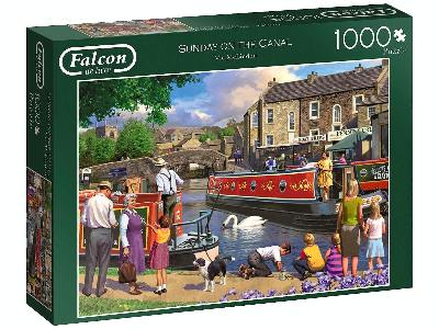 SUNDAY ON THE CANAL 1000pc