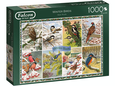 WINTER BIRDS 1000pc