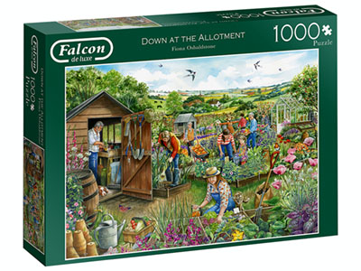 DOWN AT THE ALLOTMENT 1000pc