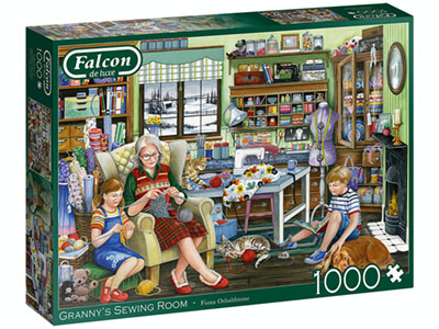 GRANNY'S SEWING ROOM 1000pc