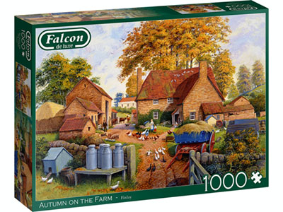 AUTUMN ON THE FARM 1000pc