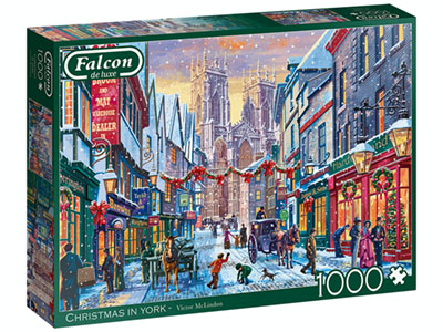 CHRISTMAS IN YORK 1000pc