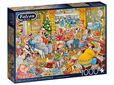 TWELVE DAYS OF CHRISTMAS 1000p