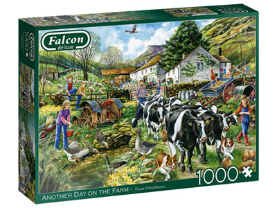 ANOTHER DAY ON THE FARM 1000pc