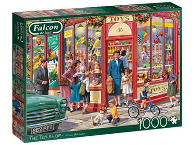 THE TOY SHOP 1000pc
