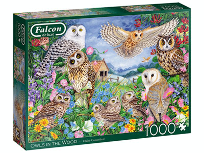 OWLS IN THE WOOD 1000pc
