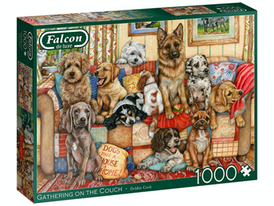 GATHERING ON THE COUCH 1000pc