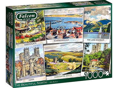 THE BEAUTIFUL NORTH 1000pc
