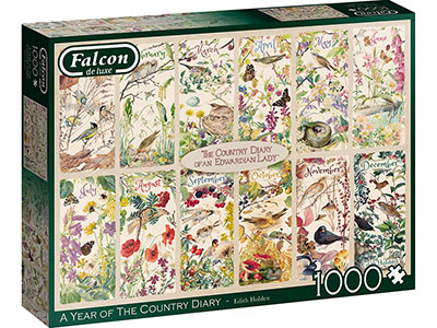 YEAR OF COUNTRY DIARY 1000pc