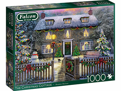 THE CHRISTMAS COTTAGE 1000pc