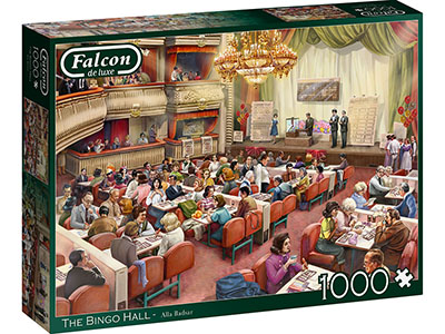THE BINGO HALL 1000pc