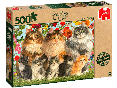 FRANCIENS CAT FAMILY 500pc