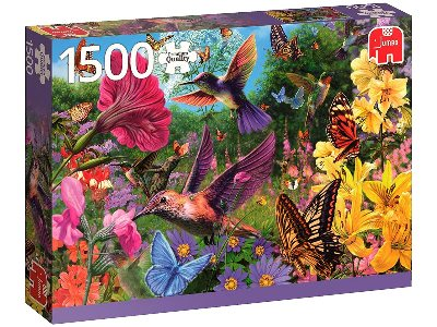 HUMMINGBIRD GARDEN 1500pc