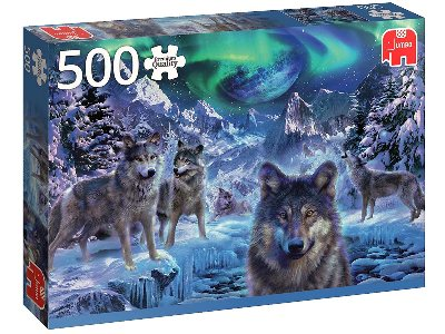 WINTER WOLVES 500pc