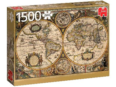 WORLD MAP FROM 1630 1500pc