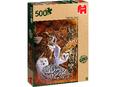 FIND THE OWLS 500pc