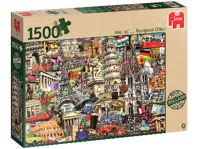 BEST OF EUROPEAN CITIES 1500pc