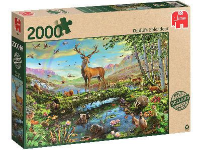 WILDLIFE SPLENDOUR 2000pc