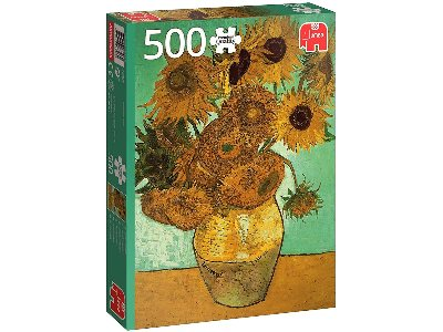 VAN GOGH, SUNFLOWERS 500pc