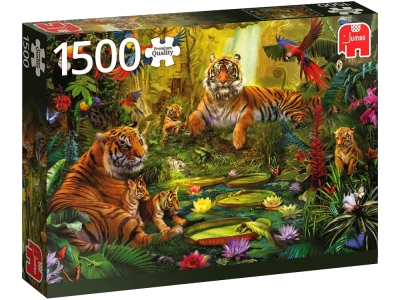 TIGERS IN THE JUNGLE 1500pcs