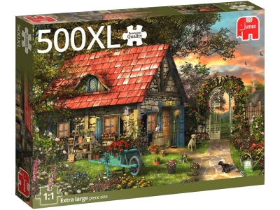 GARDEN SHED 500pc