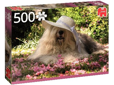 SOPHIE IN FLOWERS 500pc