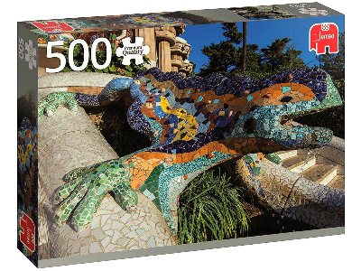 PARQUE GUELL, BARCELONA 500pc