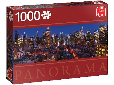 NEW YORK SKYLINE 1000pc *Pano*