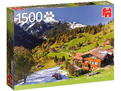 BERNER OBERLAND,SWITZERLD.1500