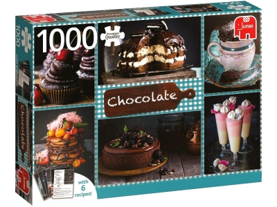 CHOCOLATE 1000pc + 6 recipes