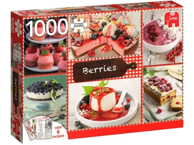 BERRIES 1000pc + 6 recipes
