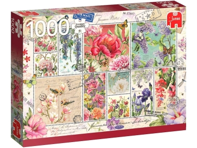 FLOWER STAMPS 1000pcs