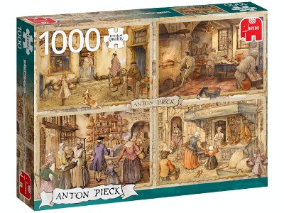 19TH C. BAKERS PIECK 1000pcs