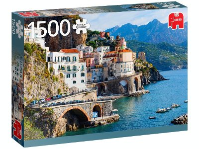 AMALFI COAST ITALY 1500pc