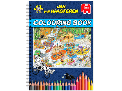 JVH COLOURING BOOK #1