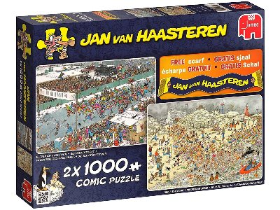 JVH WINTER FUN 2in1 1000pc