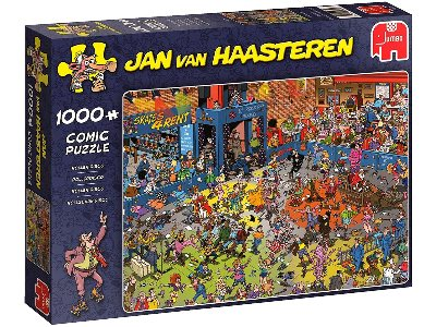 JVH THE ROLLER DISCO 1000pc
