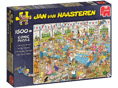 JVH CLASH OF THE BAKERS 1500pc